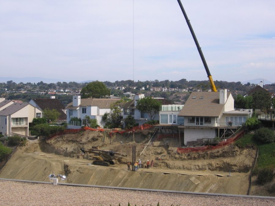 Slope Stabilization Caissons Ground Force Geotech Earth Retention Foundation Underpinning