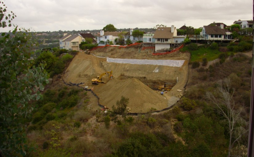Slope Repair Work – La Jolla, Ca