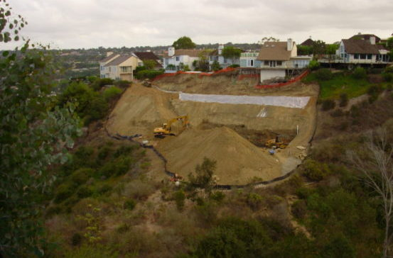 Slope-Repair-La-Jolla-Ca-Ground Force Geo Tech And Construction