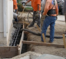 pressure grouting-Foundation-Underpinning-services-Groundforce-Commercial-Concrete and Foundations 2017
