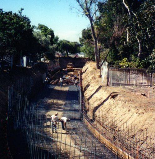 Box Channel Construction – Flood Control – Chula Vista, CA