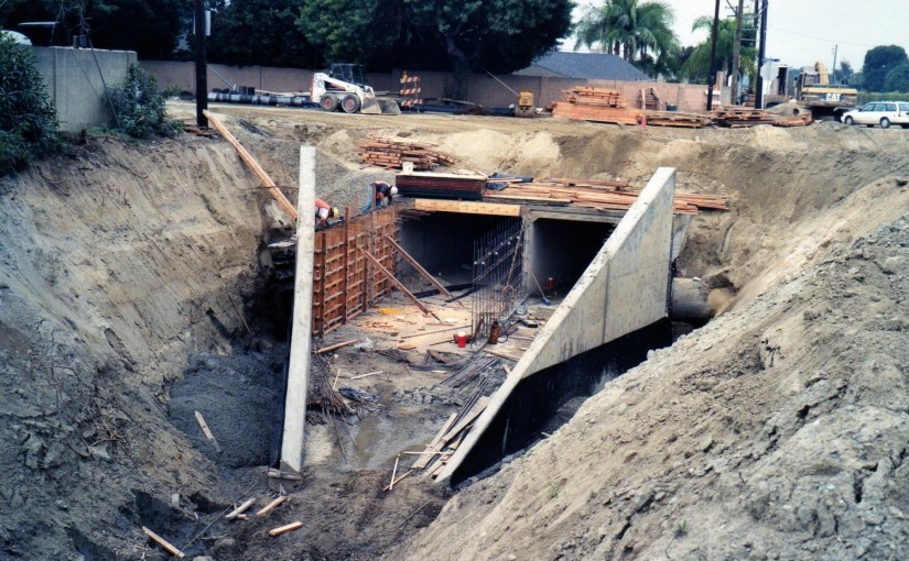 Flood Control Channel Construction – Orange County, CA