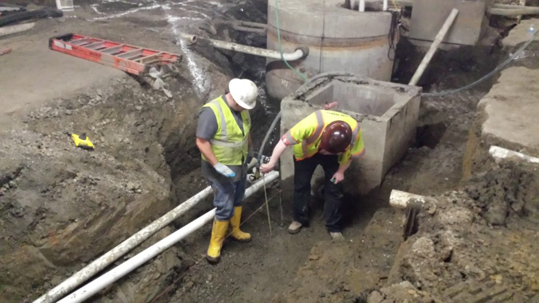 Concrete Storm Water Collection