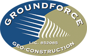 Groundforce Geo Construction Services San Diego Logo