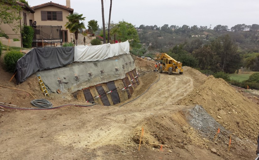 Slope Stabilization – Rancho Santa Fe, CA