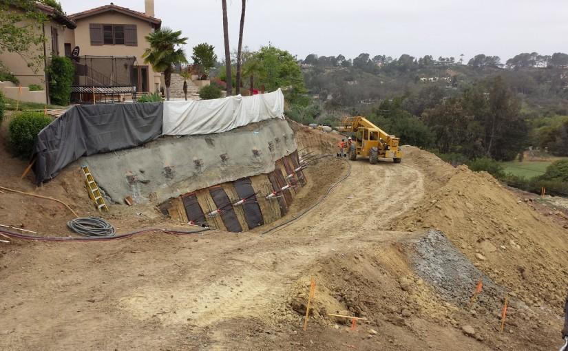 Slope Stabilization – Rancho Santa Fe, CA