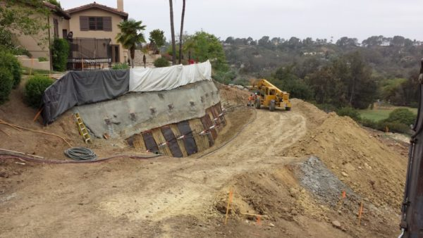 slope stabilization Ground Force Geotechnical Construction and Earth Retention