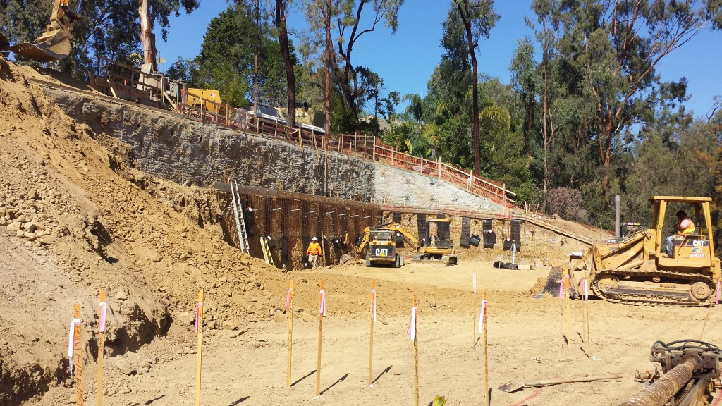 Slope Soil Foundation -Groundforce - Large Foundations San Diego