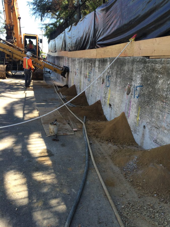 Soil Nail Wall Shotcrete Project Ground Force