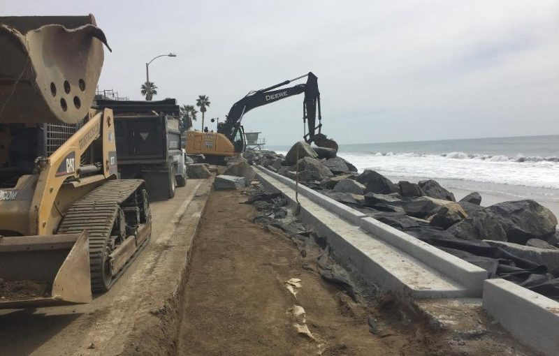 seawall construction and repair ground force geo construction