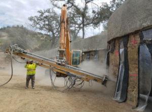 Serpentine Soil Nail Walls
