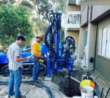 Reticulated Micropiles Groundforce Geo Construction Oceanside, San Diego