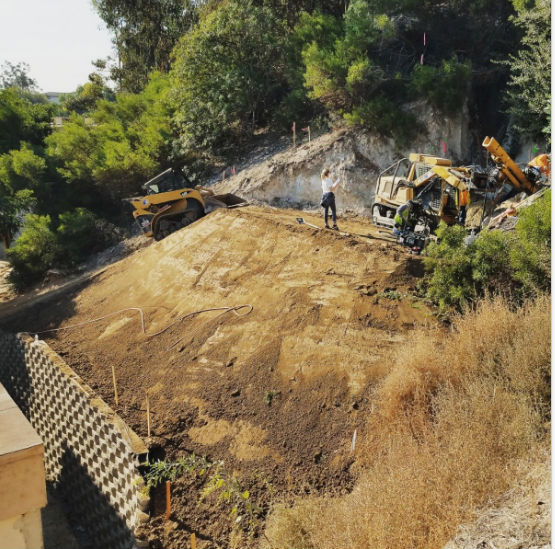 Soil Nailing Slope Repair Ground Force Geotechnical Earth Retention Systems