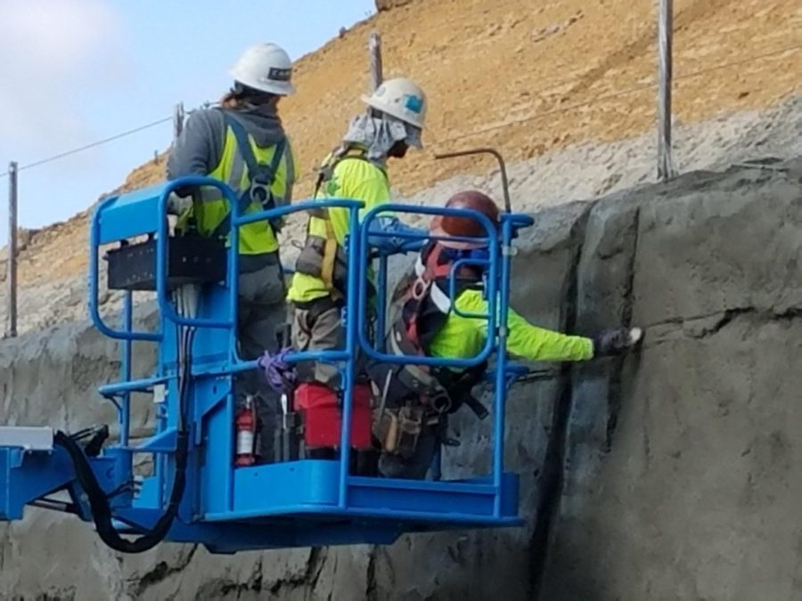 Retaining Walls Staining